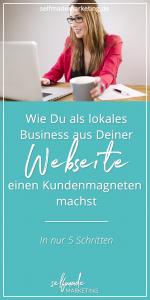 Webseten für ein lokales Business