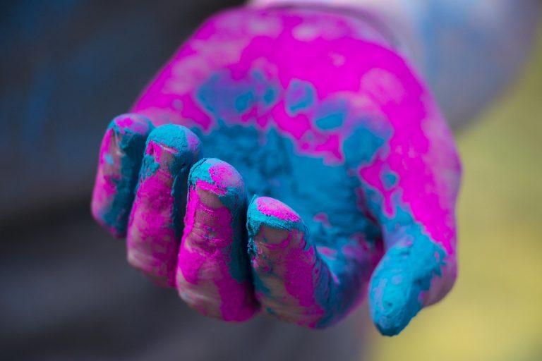 Farben für Webseiten und Druck